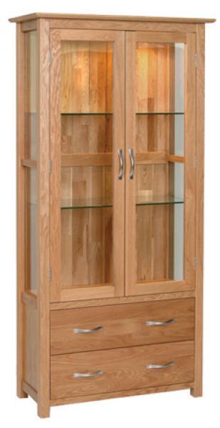 wood display cabinet plans